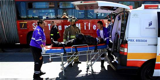 Jornada de accidentes en Bogotá dejó 92 personas lesionadas