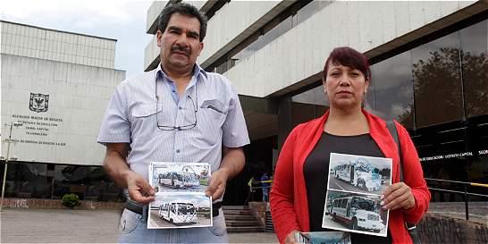 Los incumplimientos que dejaron en bancarrota a exdueños de buses