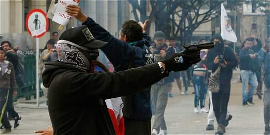 Tiros contra la Policía en la celebración del Día del Trabajo