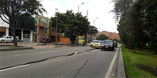 En deplorable estado está la avenida Boyacá entre calles 80 y 116