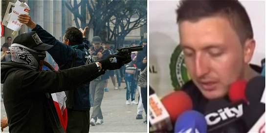 Ordenan libertad de Fabián Vargas, joven que disparó contra la Policía