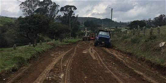 Habilitan varias vías de La Calera a Bogotá