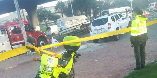 Un muerto, saldo de dos accidentes de tránsito en el norte de Bogotá