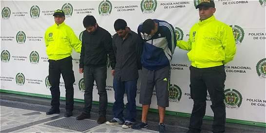 Así era el 'modus operandi' de una banda de apartamenteros en Bogotá