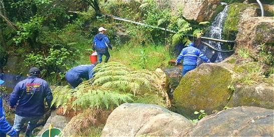Evalúan impacto de pesticidas en acueductos de Cundinamarca