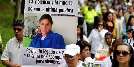 Distrito deberá volver a presentar retractación sobre Rosa Elvira Cely