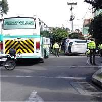Accidente deja un muerto y dos menores lesionados