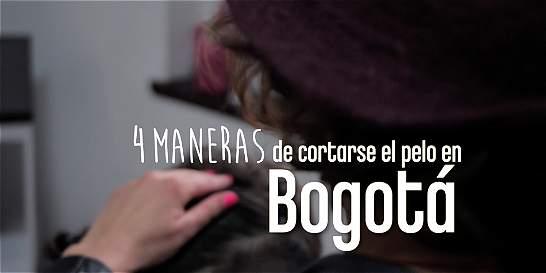 Cuatro maneras de cortarse el pelo en Bogotá