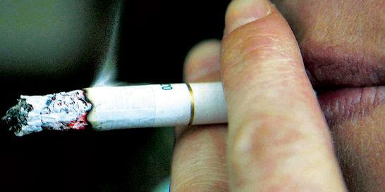 Consumo de tabaco deja 409 muertos al año
