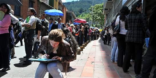 Bogotá, la tercera ciudad del país con menos desempleo