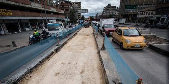 Hace 40 años no intervenían la calle 19 y así va la reparación