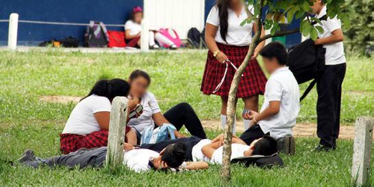 Consumo de drogas se duplicó en los colegios de Bogotá