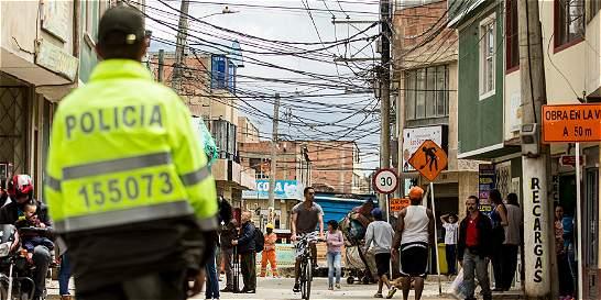 Policías serán investigados por balacera en Bosa que dejó un muerto