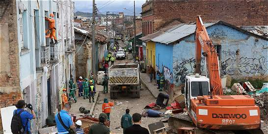 Toma de ollas en el centro de Bogota: ataque directo al microtráfico