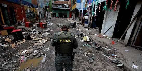 Delitos se redujeron en el centro tras desmantelar el 'Bronx'