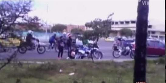 Denuncian piques ilegales de motos en Bosa
