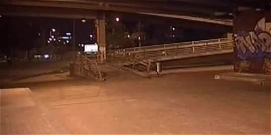 Capturan a banda que atemorizaba a peatones en puente de la calle 26
