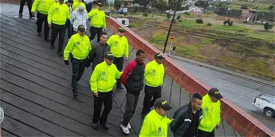 Golpe a  la banda 'Los llaneros' en la localidad de Ciudad Bolívar