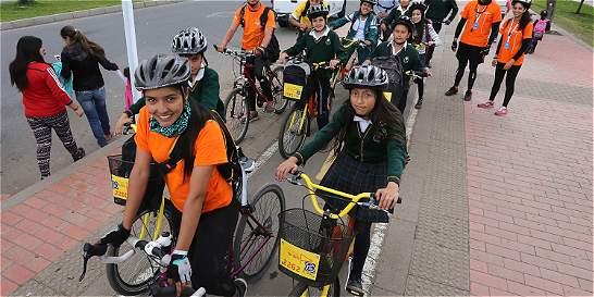 Alcaldía creó escuela para aprender a movilizarse en bicicleta