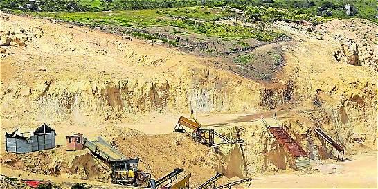 Los estragos ambientales que deja la minería en Bogotá