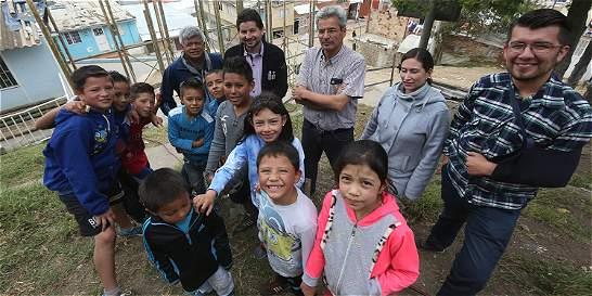 Los profesores que sembraron la paz en Jerusalén, en el sur de Bogotá