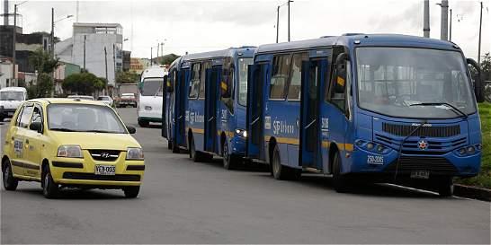 Buses del SITP seguirán durante tres años en los patios transitorios
