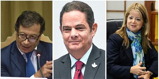 Campo Verde enfrenta en Twitter a Petro, Vargas Lleras y Noguera