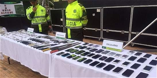 Las acciones de la Policía para evitar los robos en TransMilenio