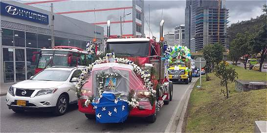 No habrá caravanas de la Virgen del Carmen, por paro camionero