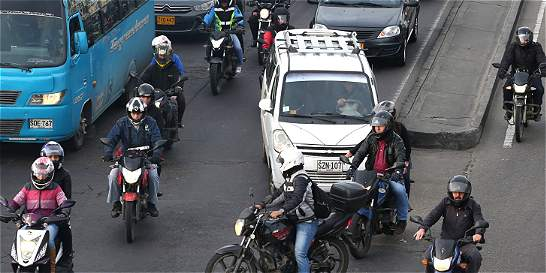 Zigzagueo, principal causa de accidentes de los motociclistas