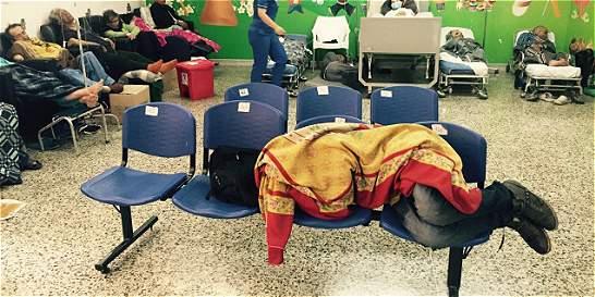 Hacinamiento en urgencias de Bogotá se redujo un 30 por ciento
