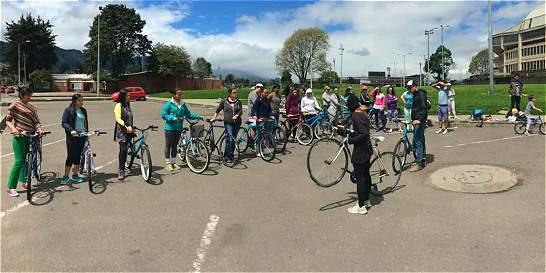 Aprender a montar en bici, el plan del sábado
