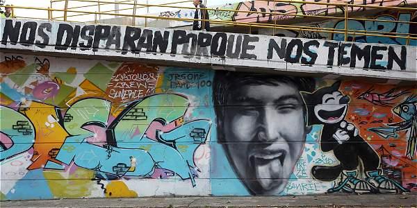 Proceso del grafitero Diego Becerra, cerca de caducar en Procuraduría
