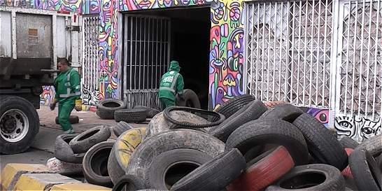 No hay quien coordine manejo de llantas usadas en Bogotá