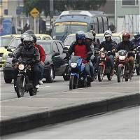 Plan tortuga de motociclistas complicaría el tránsito en Bogotá