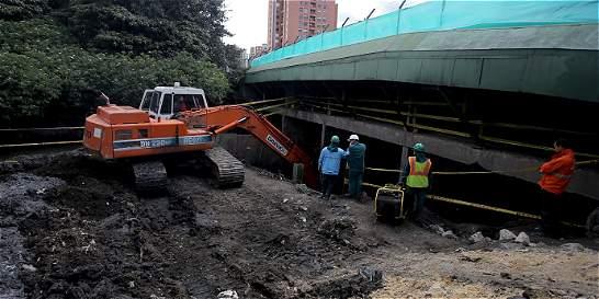 Por temporada de lluvias se intervienen canales en Bogotá