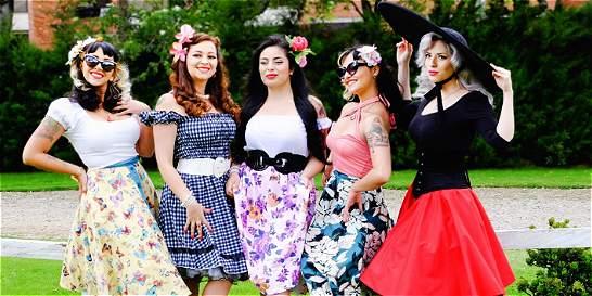 El grupo de mujeres en Bogotá que vive al estilo de los años 50