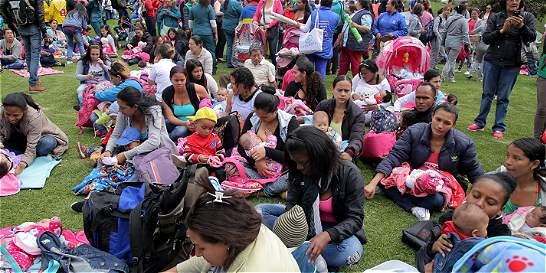 Dos mil mamás lactaron en público