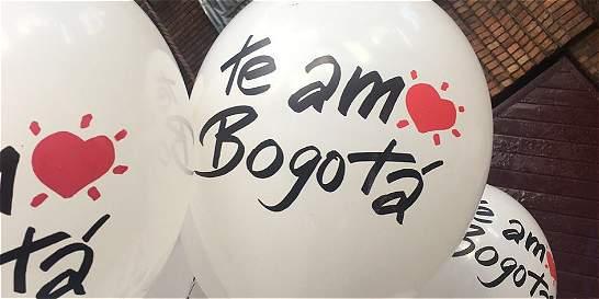 'Te amo Bogotá', la campaña por el cumpleaños de la capital