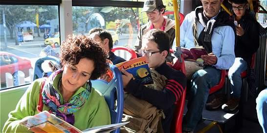 Colectivo quiere incentivar la lectura en TransMilenio