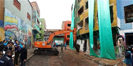 Comenzó este miércoles la demolición de predios en el 'Bronx'