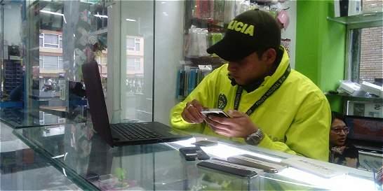 Realizan operativos contra celulares robados en el norte de Bogotá
