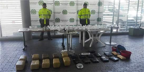 Incautan 73.000 dosis de drogas en Ciudad Bolívar