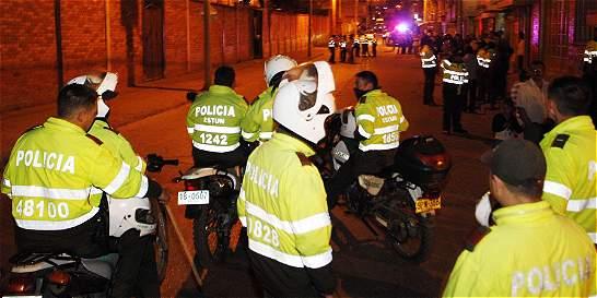 231 personas fueron capturadas en flagrancia por delinquir