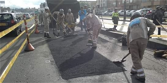 Distrito tapará 600 huecos de la avenida Boyacá