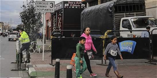 Sellan paso a los habitantes de la calle en Los Mártires
