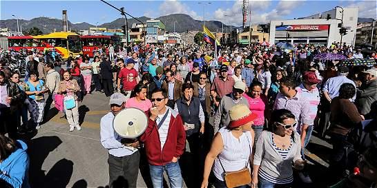 Barrio Veraguas protestó por la presencia habitantes de la calle