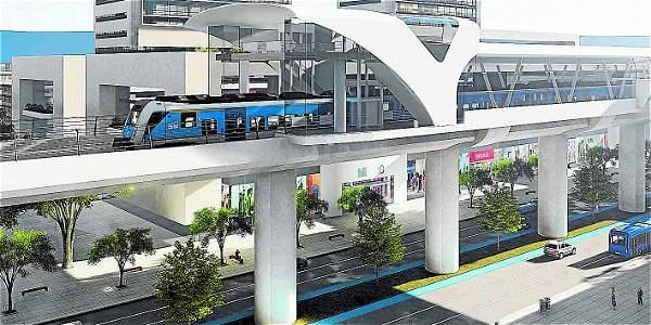 La licitación para el metro elevado se abriría en el 2017