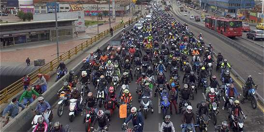 Cien claves para bajar los accidentes en motocicleta en Bogotá