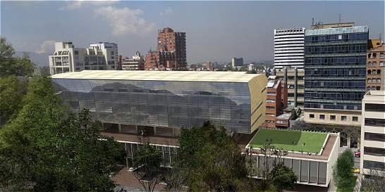 Este es el edificio bioclimático de la Universidad Javeriana